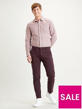 levis-slim-fit-chino-red