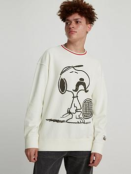 levis-snoopy-tennis-long-sleeve-t-shirt-white