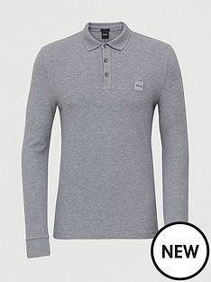 boss-passerby-long-sleeve-polo-shirt-greynbsp