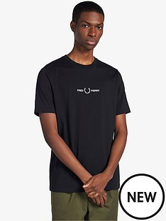fred-perry-graphic-t-shirt-black