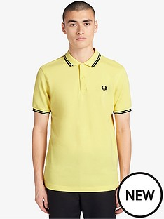 fred-perry-twin-tipped-polo-shirt-yellow