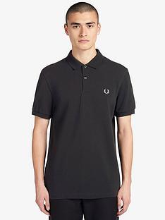 fred-perry-plain-polo-shirt-black