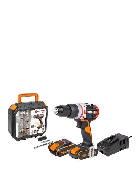 worx-cordlessnbspslammer-active-hammer-drill-wx354-20volts