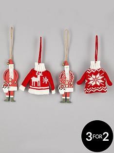gisela-graham-set-of-4-traditional-jumpers-amp-santas-christmas-tree-decorations