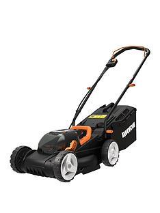 worx-cordless-34cm-dual-battery-lawn-mower-wg779e2
