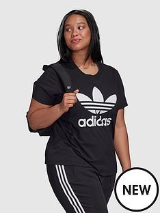 adidas-originals-plusnbsptrefoil-tee-blacknbsp