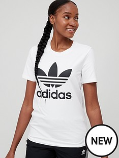 adidas-originals-trefoil-tee-white