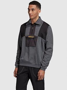 adidas-originals-adventure-field-half-zip-grey-heathernbsp