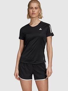 adidas-own-the-run-response-tee-black