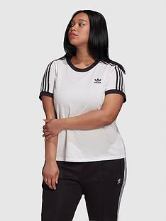adidas-originals-plusnbsp3-stripe-tee-white