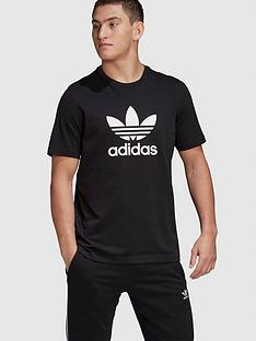adidas-originals-trefoil-t-shirt-blacknbsp