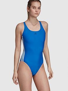 adidas-fit-3-stripenbspswimsuit-bluenbsp
