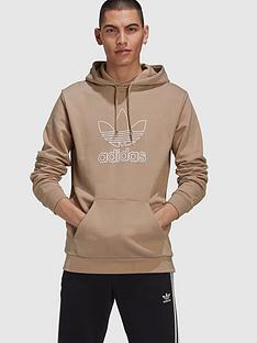 adidas-originals-trefoil-hoodie-khaki