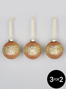 set-3-gold-beaded-glass-christmas-tree-baubles
