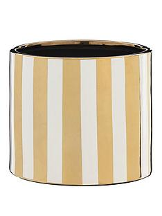 metallic-stripe-planter
