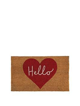 hello-heart-coir-doormat