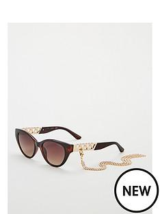 guess-gu7690nbspcat-eye-sunglasses-with-clip-on-chain-havana