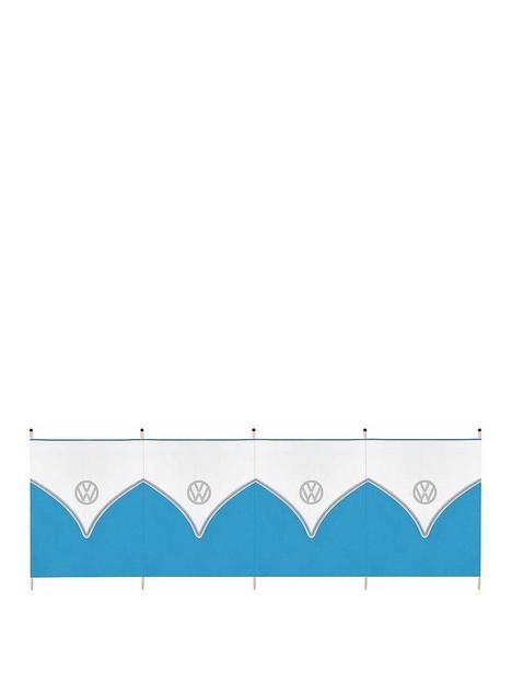 volkswagen-vw-5-pole-tall-windbreak-blue