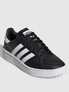 adidas-originals-team-court-junior-trainers-blackwhite
