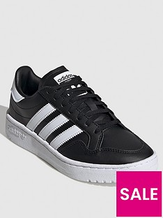 adidas-originals-team-court-junior-trainers-blackwhite