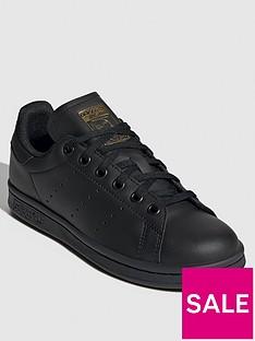adidas-originals-stan-smith-junior-trainers-black