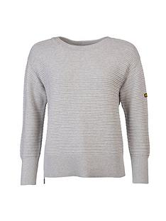 barbour-international-goodwood-knit-grey-marl