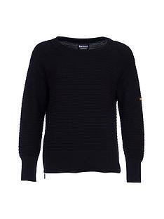 barbour-international-goodwood-knit-black