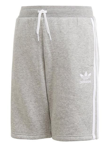 adidas-originals-childrensnbspfleece-shorts-grey-heather
