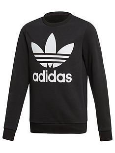 adidas-originals-trefoil-crew-neck-sweat-top-black