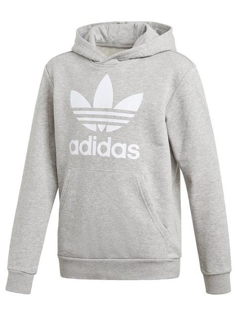 adidas-originals-trefoil-hoodie-grey-heather