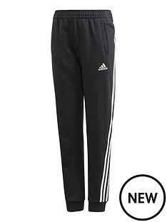 adidas-girls-3-stripes-pant-black