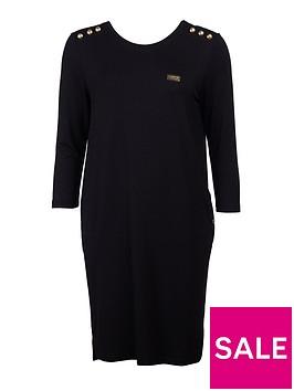barbour-international-cadwell-dress-black