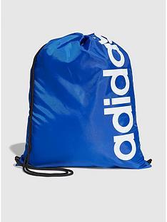 adidas-linearnbspcore-gymnbspbackpack-blue