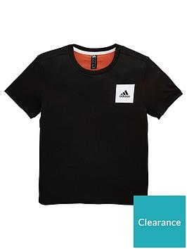 adidas-junior-boys-training-aero-tee-black