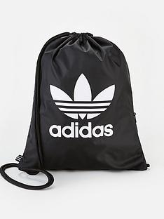 adidas-originals-childrensnbspgymsack-trefoil-black