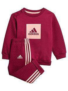adidas-originals-infant-3-stripe-logo-jog-set-purple