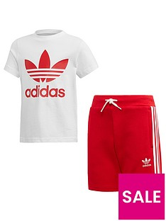 adidas-originals-short-t-shirt-set-whitered