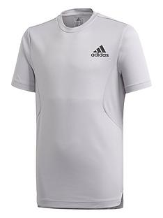 adidas-boys-hr-t-shirt-grey