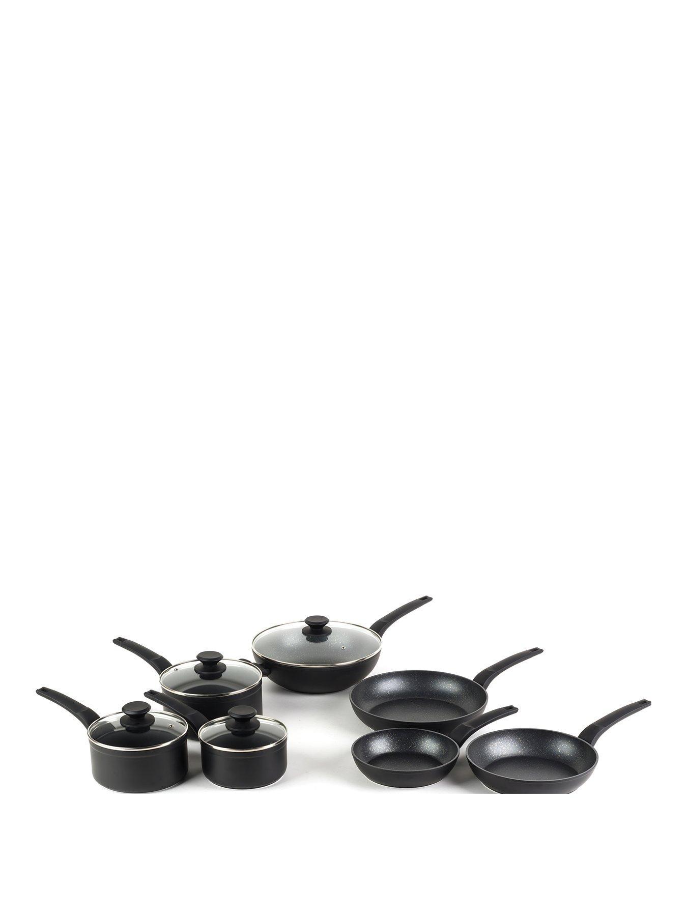 Copper Ceramic Cookware Frying Pan 20cm Non Stick Saucepans /& Frying Pans