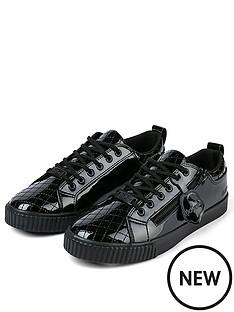 kickers-tovni-quilt-trainer-black