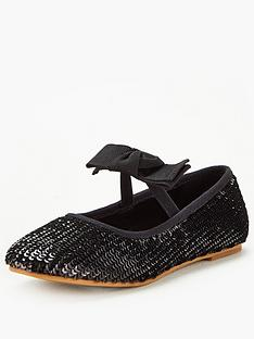 v-by-very-girls-sequin-bow-ballerina-shoes-black