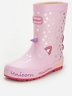 v-by-very-toezone-atnbspv-by-verynbspgirls-unicorn-wellie-pink