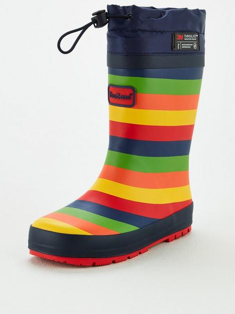 v-by-very-toezone-atnbspv-by-verynbspyounger-childrensnbspstripe-wellie-with-toggle-fastening-multi