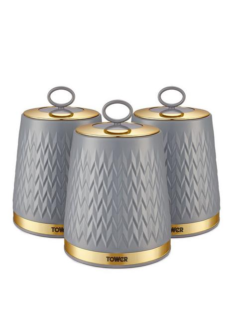 tower-empire-set-of-3-canisters-ndash-grey