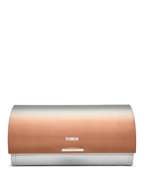 tower-infinity-ombre-roll-top-bread-bin-ndash-copper