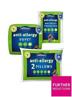 silentnight-anti-allergy-double-bedding-bundle-ndash-contains-2-pillows-mattress-protector-and-105-tog-duvet