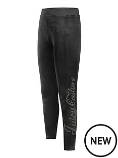 juicy-couture-girls-luxe-velour-diamante-legging-black