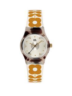 orla-kiely-orla-kiely-mini-bobby-grey-tortoise-shell-case-white-and-tan-stem-print-strap-watch