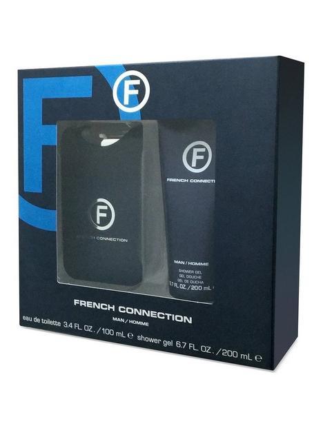 french-connection-man-100ml-eau-de-toilette-200ml-shower-gel-gift-set
