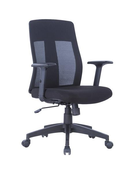 alphason-laguna-fabric-and-mesh-back-chair-black
